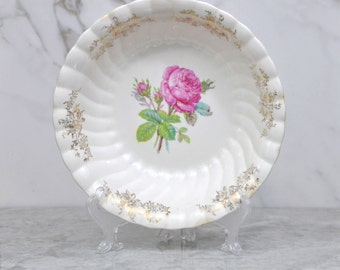 vintage flowered serving dish eBay