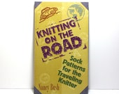 Sock Knitting Book, Knitting on the Road, Sock Patterns for the Traveling Knitter, Nancy Bush, Hardcover, Interweave Press