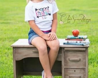 Back to school shirt, kindergarten shirt, first grade shirt, back to school shirts, back to school, kindergarten 100 days of school shirt
