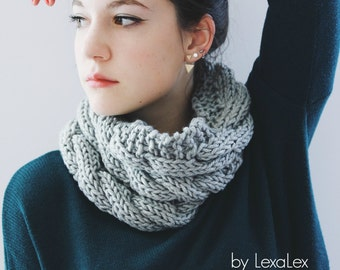 Cable Knit Cowl Pattern