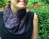Bisou - Knitting PDF Pattern - DIY Homemade knit scarf cowl neck warmer