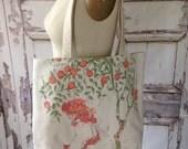 Holly Hobbie Tote Bag - Re-purposed, Vintage