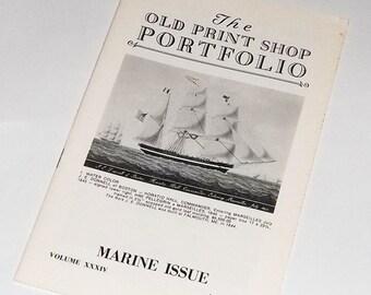 Currier and Ives, 1956 Old Print Shop Portfolio