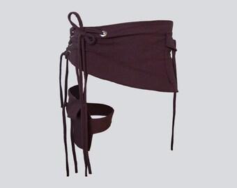 ARNICA BELT [burning man clothing . utility belt . festival belt . festival clothing . festival accessories . holster . holster bag ]