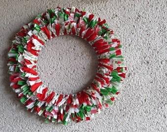 Artisan Crochet Rag Rug Cottage Christmas By Stitchedandpicked