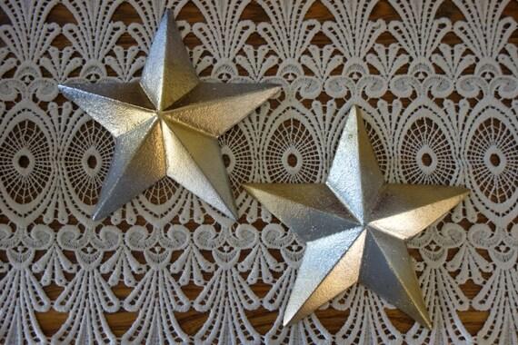 Gold Star Wall Decor: Stars Cast Metal Stars Wall Decor Metallic Gold By