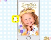 Snapchat GeoFilters, Birthday Snapchat Filters, Unicorn Snapchat Filter, Unicorn Snapchat GeoFilter, Magical Unicorn Birthday Party
