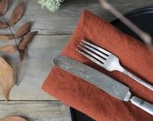 100% Natural Linen Dinner Napkins