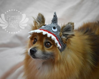 Pet Shark Beanie (XS-XL) Any Colors