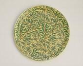 Vintage William Morris Willow Boughs Circular Serving Tray