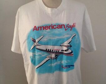 RARE! Vintage American Eagle Airlines Original Jetstream Super 31