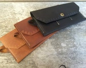 Womens wallet, Large wallet, Clutch wallet, Leather wallet, Leather clutch, Black wallet, Brown wallet, Tan wallet, The Ingalls