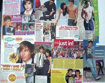 ZAC EFRON ~ Dirty Grandpa, High School Musical, Charlie St Cloud, The Lucky One, Neighbors ~ Color Articles for Scrapbooking - Batch 3
