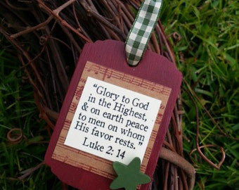 Christian Gifts with Encouraging Bible by SweetHomeTreasures