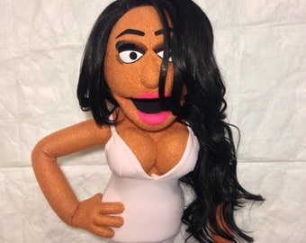 Gorgeous Woman custom puppet