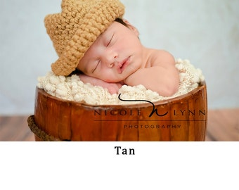 Baby Boy Hat, Baby Boy Hat Cap, Crochet Knitted Baby boy hats, Newborn Infant baby boy hat cap, Cowboy baby hats, baby shower gifts