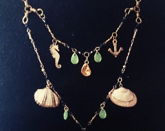 Seaside Vacation Handcrafted Necklace