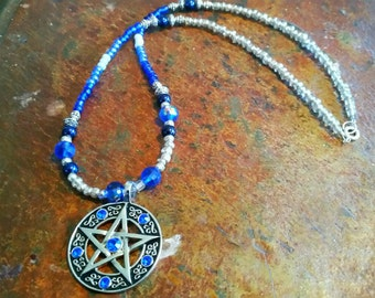 Winter Solstice Pentacle Necklace
