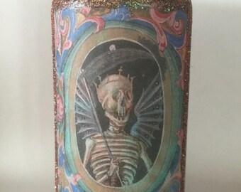Samhain, Dia De Los Muertos Celebration Candle