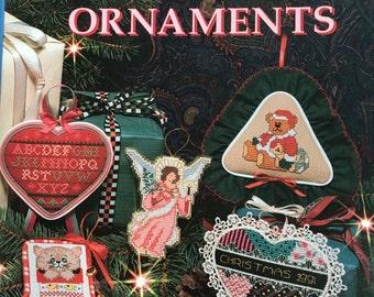 "Book ""100 Cross-Stitch Christmas Ornaments"""