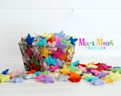 Mix & Match Felt Stars - Wool Felt Stars - (3-4cm/30-40mm ) Multi-color Bundle - Felted Stars Bundle - Colorful Wool Stars - You Choose