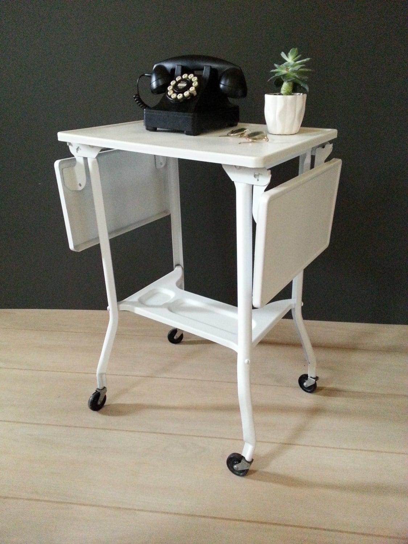 Table Vintage Rallong Pied Metal Fenrez Com Sammlung Von  # Meuble Tv Stockholm Maison Du Monde