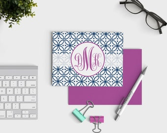 Personalized Stationery - Monogrammed Notecards - Custom Stationery - Bridesmaid