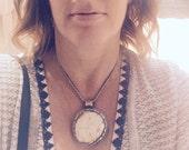 Tibetan Necklace,Tribal Pendant Necklace,Tribal Necklace Silver,Tribal Necklace,Tibetan Pendant,Shell Necklace,Choker Necklace,Tribal Choker