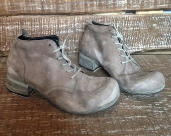 Leather ankle boots DUSTY