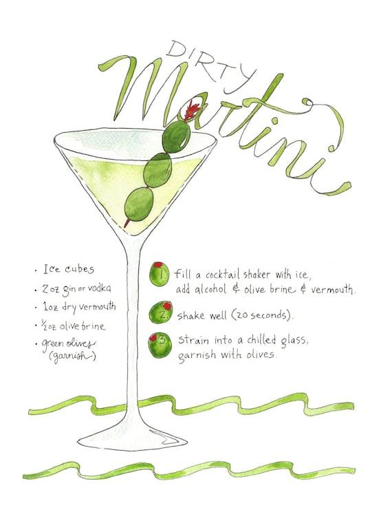 Dirty Martini Recipe Vodka Halflifetrinfo