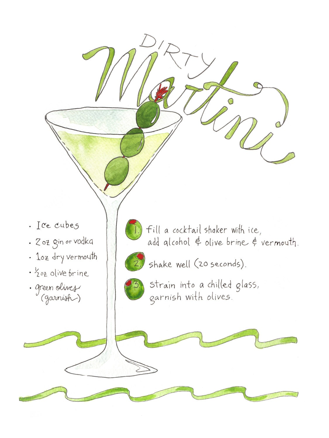 Sep 02,  · This is my vodka dirty martini recipe! It's perfect with a wonderful balance of vodka, vermouth and olive brine!! It is a re-do recipe of one of my first posts.5/5(2).
