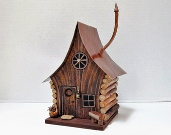 Fairy House, Crooked Copper Fairy Cabin