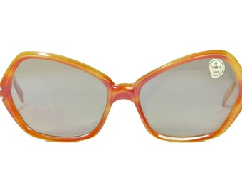 Samco, vintage 60s retro oversize cateye NOS made in Italy sunglasses