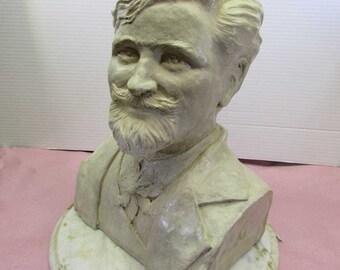Alphonse Mucha Bust