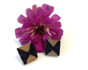 Square Bow Earrings
