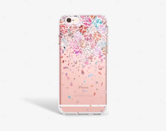 Moroccan iPhone 7 Case Clear iPhone SE Case Clear Moroccan iPhone 7 Plus Case iPhone 6 plus Case Samsung Galaxy S7 Case Clear Moroccan Print