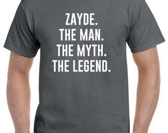 Zayde Christmas Gift-Funny Zayde Shirt Tshirt