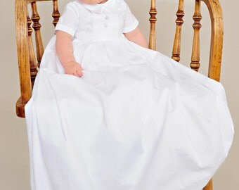 Caleb Christening Gown for Boys, Baptism Gown for Boys