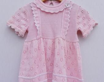 Pretty in Pink Knit Dress
