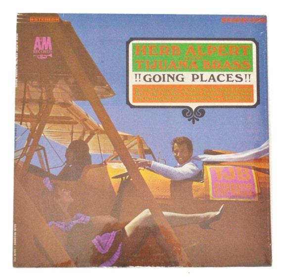 Vintage 60s Herb Alpert and the Tijuana Brass !!Going Places!! Sealed Album Record Vinyl LP