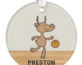 Boys Basketball Ornament, Girls Basketball Ornament, Personalized Basketball Ornament, Basketball Ornament, Boys Ornament, Baby Ornament