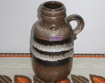 SALE!!! Scheurich 413-20 west german handled vase