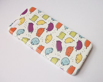 Bean Cats Patterned iPhone 6S Case