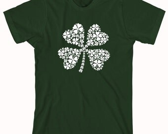 Shamrock Shirt, Irish drinking shirt, St. Paddy's, St. Patrick's, - ID: 1104