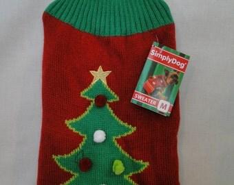 Ugly Dog SweaterSize Medium Christmas Party Dog Costume