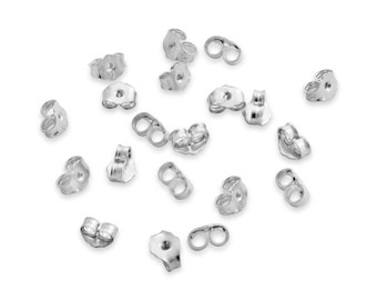 Back Locks 20pc #925 Sterling Silver #Azaggi
