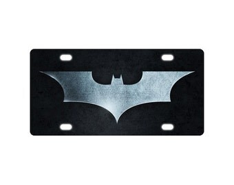 BATMAN hero Metal License Plate for Car