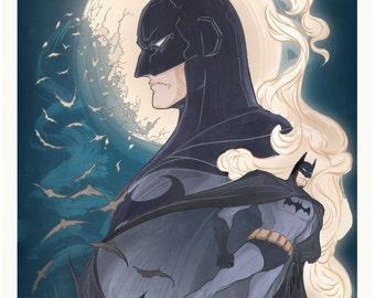 Batman Comics Fan Poster