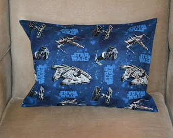 Travel Pillow Case / Child Pillow Case of STAR WARS / Luke Skywalker / Princess Leia / Darth Vader / Yoda and many more!