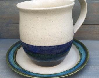 Tea Cup Dessert Dish Set of Four